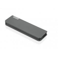 Lenovo USB-C Mini Dock 45w 1x USB Type C 3.1, 1x USB 3.1, 1x USB 2.0, 1x USB Type C PD, VGA, HDMI,1x RJ45, 1x 3.5mm Audio combo, 1 Year