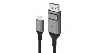 ALOGIC USB-C (Male) to DisplayPort (Male) Cable - Ultra Series - 4K 60Hz -Space Grey - 1m