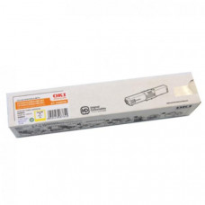 OKI Toner Cartridge For C310dn/330dn/331/MC361/362  Yellow; 2000 Pages @ 5% Coverage
