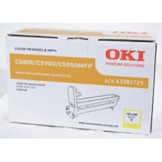 OKI MC853/MC873 EP Drum Cartridge Yellow 30,000 Pages