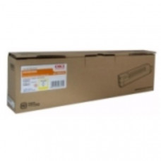 OKI Toner Cartridge Yellow for MC853; 7,300 Pages @ (ISO)