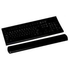 3M WR310LE Gel Wrist Rest for Keyboard with Leatherette Cover and Antimicrobial Product Protection