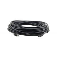 Kramer CA-UAM/UAF USB Active Extender Cable 10.70m (35ft) - USB 2.0 High Speed (480Mbps) Standard.