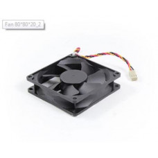 Synology Spare Part- Fan 80*80*20_2Suits Models - NVR216, DS1512+, DS1515+, DS1513+, DS1517+, DS1515, DS418j, DS1517