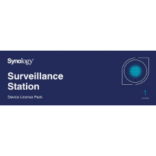 Synology Surveillance Device License Pack For Synology NAS - 1 Additional License
