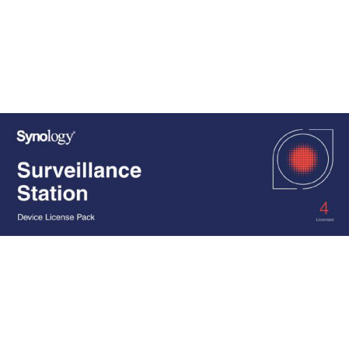 Synology Surveillance Device License Pack For Synology NAS