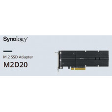 Synology M2D20 Adapter card for SSD Cache - Select models only