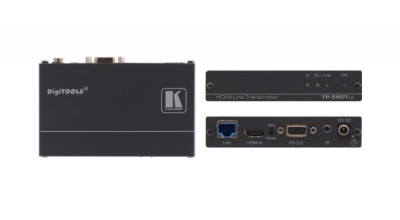 Kramer 4K60 4:2:0 HDMI HDCP 2.2 Transmitter with RS-232 & IR over Extended-Reach HDBaseT (Extenders - HDMI Extenders)