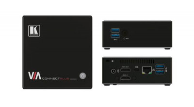 Kramer VIA CONNECT PLUS Simultaneous Wired and Wireless Presentation and Collaboration Solution (Wireless Presentation & Collaboration)