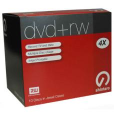 Shintaro DVD+RW 4.7GB 4X i10Pk (inkjet)