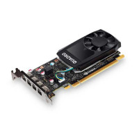 Buy 15 x P620 and get 1 x P400 FREE Leadtek Quadro P620 Work Station Graphics Card PCIE 2GB DDR5, 4H(mDP), Single Slot, 1x Fan, Low Profile