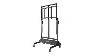Gilkon FP7 v3 Mobile Trolley- Flat Screen Lift Mobile (Manual Lift) w/ NB Shelf and Retro fit MLD Kit