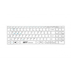 GETT Bluetooth & USB Washable Keyboard (with Silicone Cover)