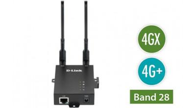 D-LINK 4G LTE Dual SIM M2M VPN Router