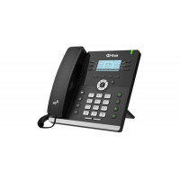 HTEK UC903 Classic Business IP Phone Up to 6 Sip Accounts + PSU + Wall Mount