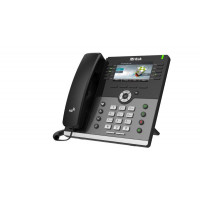 HTEK UC926E Executive Business IP Phone with Bluetooth and WiFi Up to 16 Sip Accounts + PSU + Wall Mount