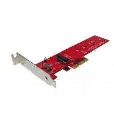 Shintaro PCIE 3.0 to Host Adapter for M.2 SSD (LP & FH brackets included)