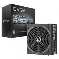 EVGA PSU (Full-Modular), 650W, 80+ Platinum 94%, SuperNOVA P2, 140mm Fan, 4xPCIE, Single +12V Rail, 10 Year Warranty