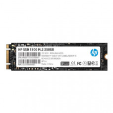 HP SSD S700 M.2 250GB, 3D TLC with HP Controller H6008 and 560/510 Max R/W - 3 Year Warranty