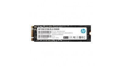 NQR HP SSD S700 M.2 250GB, 3D TLC with HP Controller H6008 and 560/510 Max R/W - 3 Year Warranty