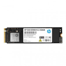 HP SSD EX900 M.2 NVMe 250GB, 3D TLC with HP Controller H8038 and 2100/1500 Max R/W - 5 Year Warranty