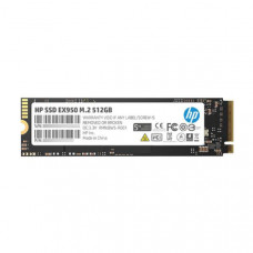 HP SSD EX950 M.2 NVMe 512GB, 3D TLC DRAM with HP Controller H8038 and 3500/2250 Max R/W, 5Yr WTY
