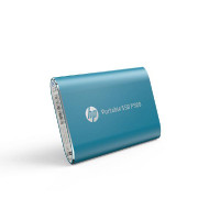 HP Portable SSD P500 120GB BLUE 370MB/S Read 110MB/S Write