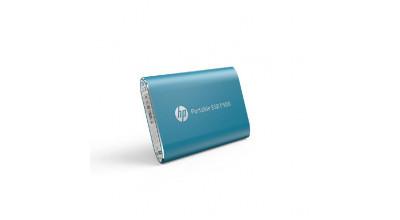 HP Portable SSD P500 250GB BLUE 370MB/S Read 200MB/S Write