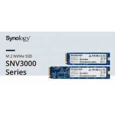 Synology SNV3000 - M.2 NVMe SSD - 5 year Limited Warranty - Form factor - M.2 22110 - 400GB Check Compatible models