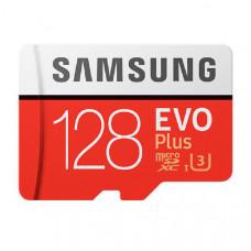 Samsung EVO Plus microSD Card (SD Adapter) 128GB