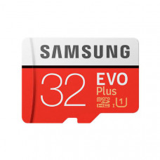 Samsung EVO Plus microSD Card (SD Adapter) 32GB