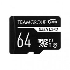 Team Dash Card 64GB UHS-1 Micro SD Card