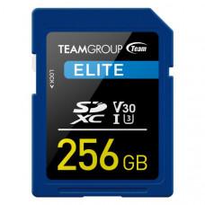 TEAMGROUP ELITE SDXC UHS-I U3 256GB High Speed Memory Card