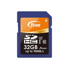 Team Xtreme SDHC 32GB UHS-1 U3 (Read 90MB/s, Write 45MB/s)