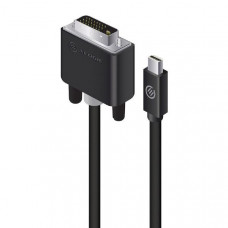 Alogic ACTIVE Mini DisplayPort to DVI-D Cable with 4K Support - Elements Series - 1m