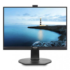 Philips Monitor 24 inch 16:9 LED,241B7QPJKEB , 1920x1080 ,Power Sensor, Input: DP/VGA/DVI/HDMI VESA,Webcam,USB 3.0 x 3,4yr Warranty