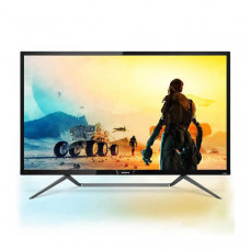 Philips Monitor 43 inch 16:9 LED,436M6VBRAB 3840x2160, Tilt, VGA/ DP/ HDMI/ USB-C/ USB 3.0x3, VESA-HDR400,Ambiglow, Remote 3 yr WTY