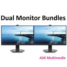 Phlips Dual Monitor Bundle - 2 x 288P6LJEB - 28