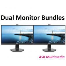 Phlips Dual Monitor Bundle - 2 x 241B7QUPBEB 24