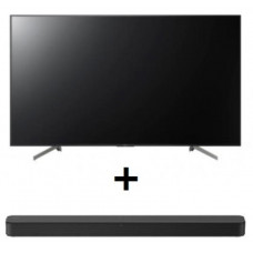 Sony Bravia 65 inch Entry QFHD 4K(3840x2160), HDR10/ HLG, Android, RS232, 3 Year Onsite Warranty, 17/7 ***VALUE SONY SOUND BAR BUNDLE DEAL***