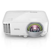 BenQ EW800ST Short Throw DLP Smart Projector w/ BONUS Webcam + Wireless Keyboard and Mouse - WXGA/ 3300ANSI/ 20,000:1/ HDMI, VGA/ USB/ Android 6.0 OS