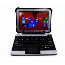(NQR) iKey Snap-in-Place Fully Rugged Keyboard for the FZ-G1 Toughpad (Broken Tether, product unused)