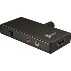 J5create JVA02 Live Capture UVC HDMI to USB Video Capture (HDMI to USB-C or USB-A)