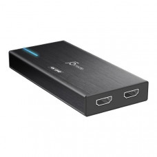 J5create JVA04 HDMI to USB Game Capture Station (HDMI to USB-C, include USB-C to USB-A cable)