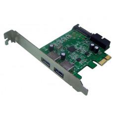 Shintaro USB3.0 PCI-e 3 x Port Card