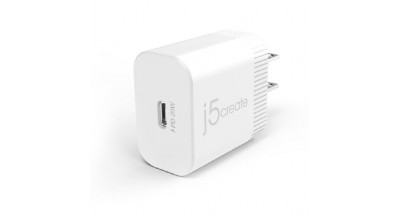 J5create JUP1420 20W PD USB-C  Wall Charger for iPhone 12 & other smartphones/Tablets