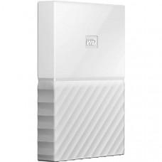 Western Digital WD My Passport 2TB Portable Hard Drive - White