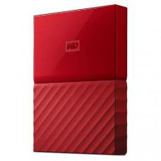 WD My Passport 2TB USB 3.0 Portable Hard Drive - Red WDBYFT0020BRD