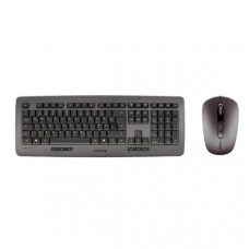 CHERRY DW 5000 - Wireless Multifunctional Keyboard + Optical Mouse,  USB / Black - 1 USB receiver for Keyboard + Mouse