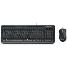 Microsoft Wired Desktop 600 Keyboard & Mouse Combo, USB, Black, Retail
